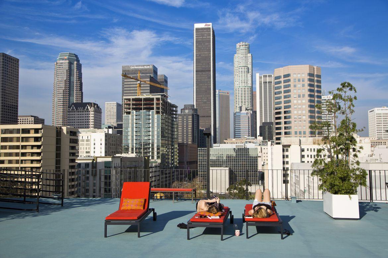 Consejos para visitar los Ángeles, Skyline LA
