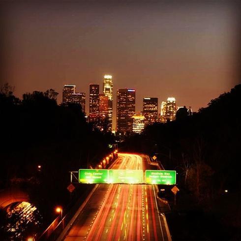 TrafficJam en Los Ángeles.