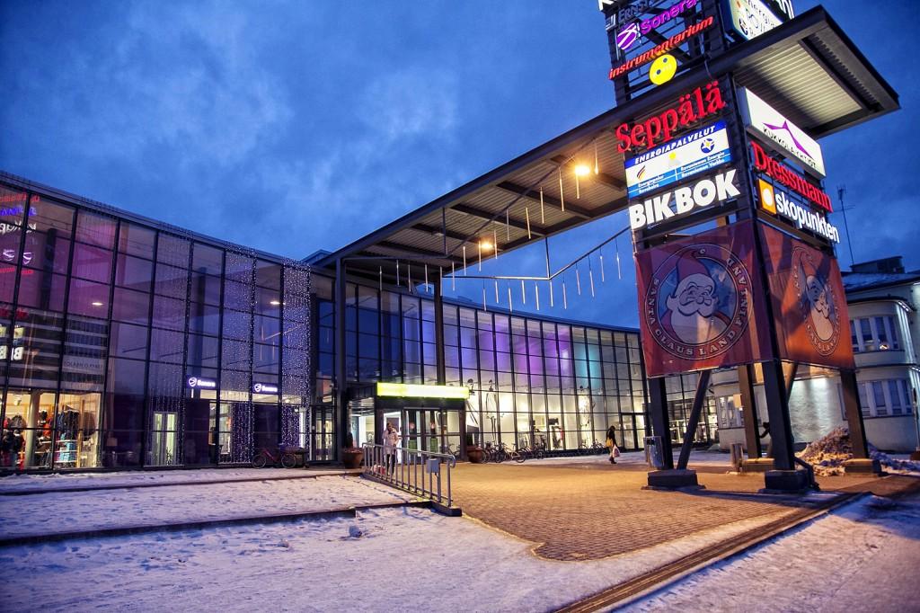 Centro Comercial en el centro de Rovaniemi