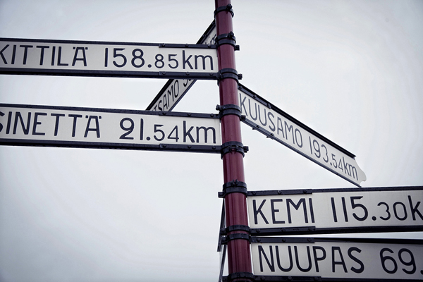 Todos los caminos del norte
