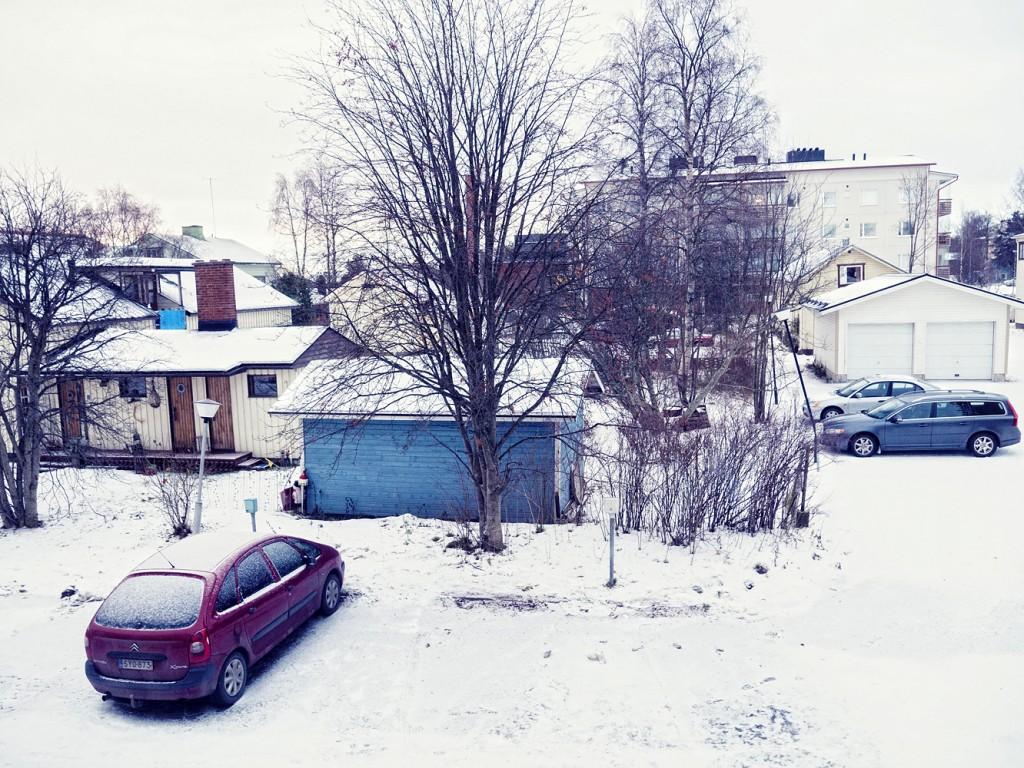 La nieve es muy bonita pero también dificulta la vida