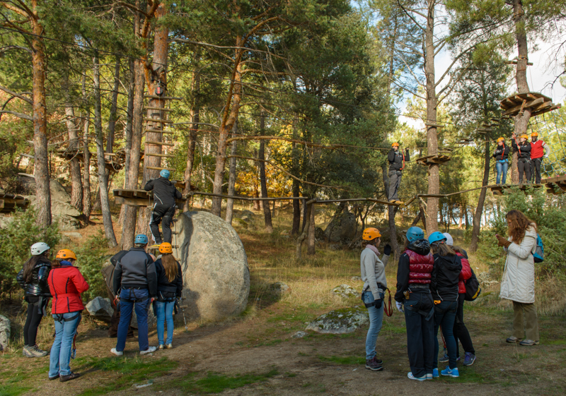Parque de Aventuras las Cabezuelas en Navaluenga, Ávila