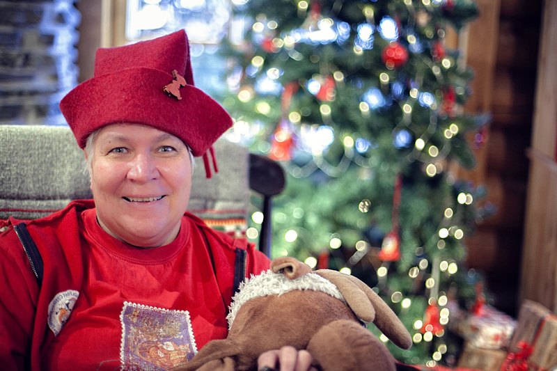 Duendes de Papá Noel, Santa Claus, La casa de Papá Noel en Laponia