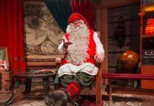 La casa de Papá Noel en Laponia