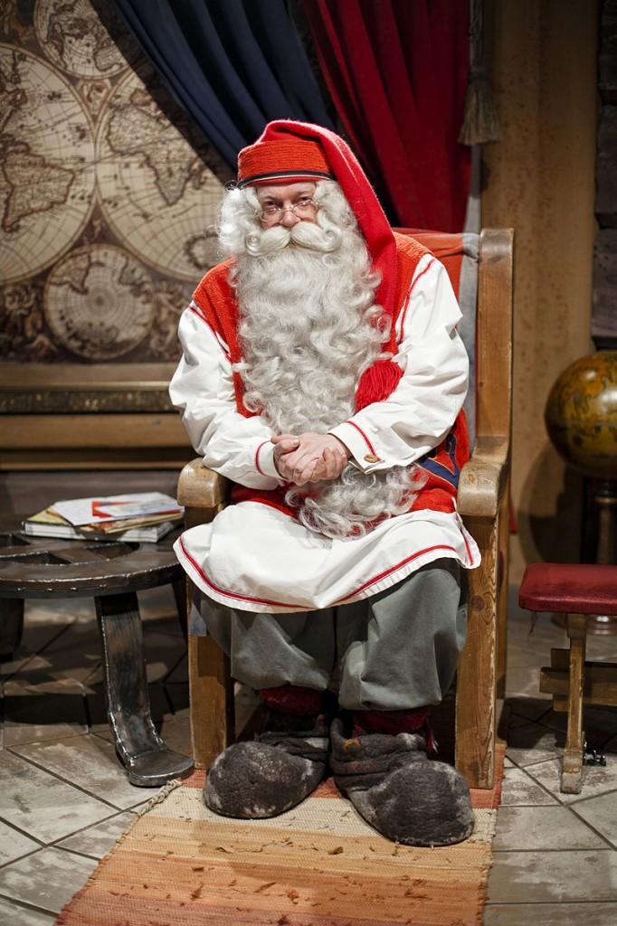 Santa Claus, Papá Noel, La casa de Papá Noel en Laponia