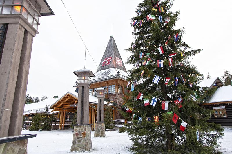Santa's Village, Laponia Finlandesa, Rovaniemi, La casa de Papá Noel en Laponia