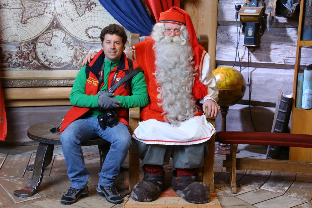 Papá Noel en Laponia, Finlandia, Rovaniemi