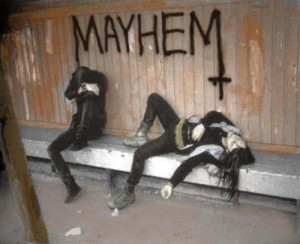 Mayhem, black metal