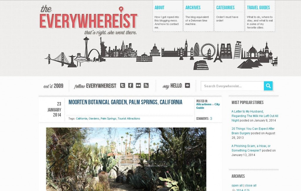 best travel blogs, blog de viajes extranjeros, The Everywhereist