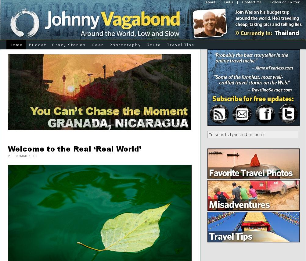 best travel blogs, johnny vagabond,, blog de viajes extranjeros