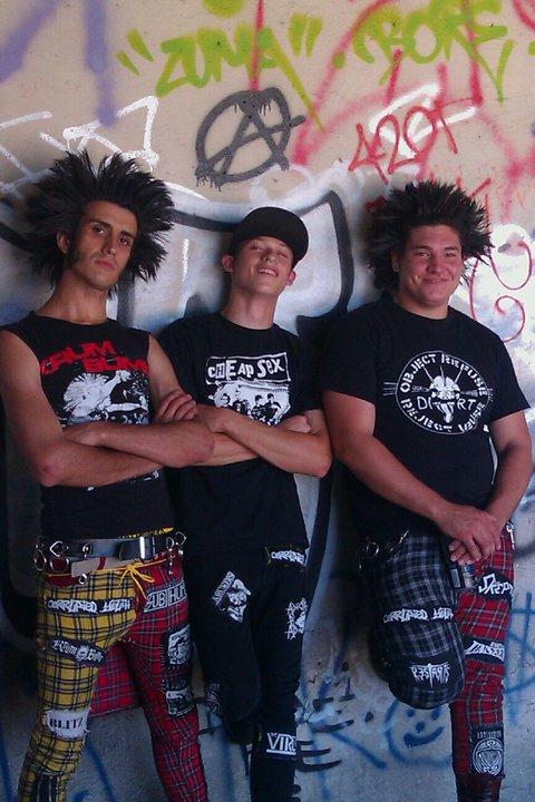 Punks en Los Ángeles, East Los