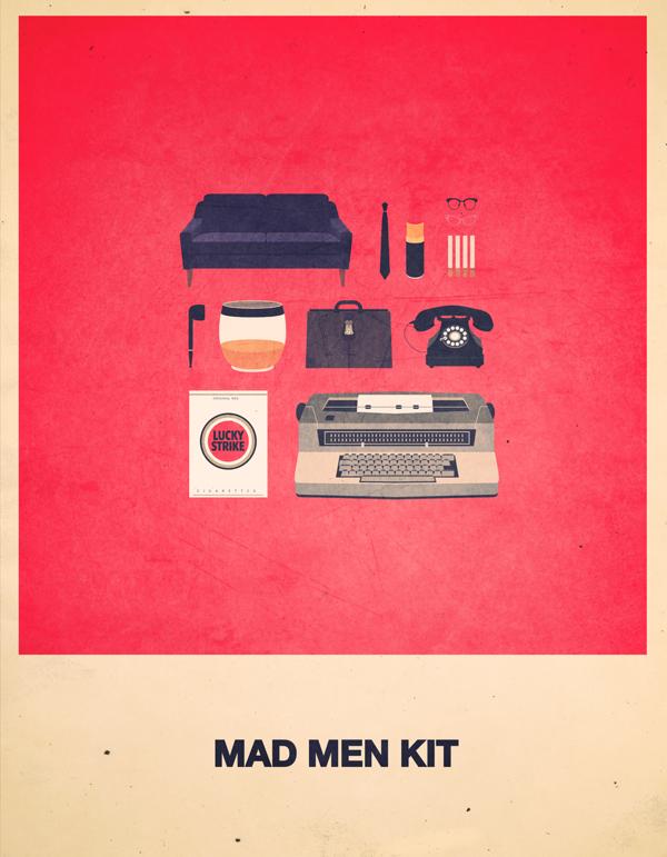 diseño Mad Men, serie televisión