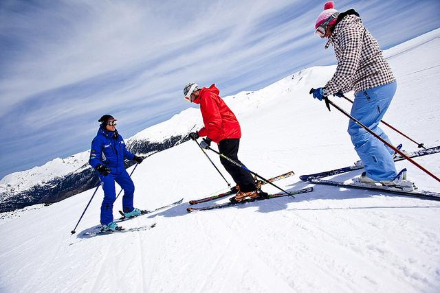 debutantes en GrandValira, Andorra, Consejos para esquiar