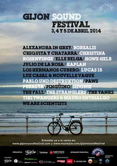 Cartel Gijón Sound Festival.