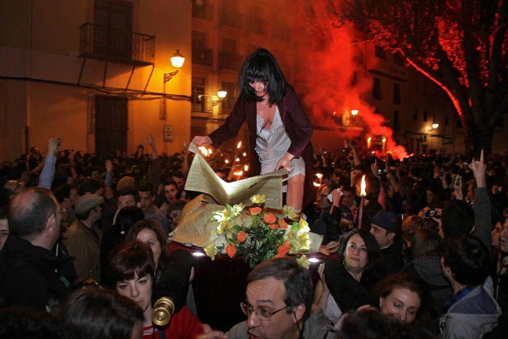 procesión Genarín, semana santa leon, Extrañas procesiones de Semana Santa