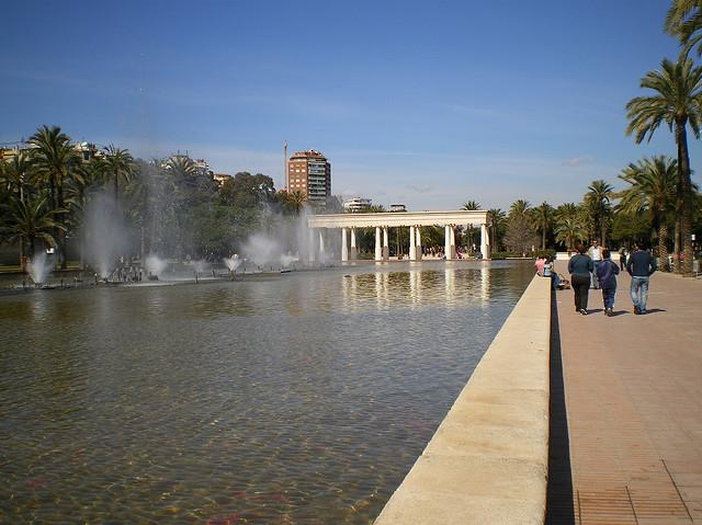 Paseo del Turia, Valencia