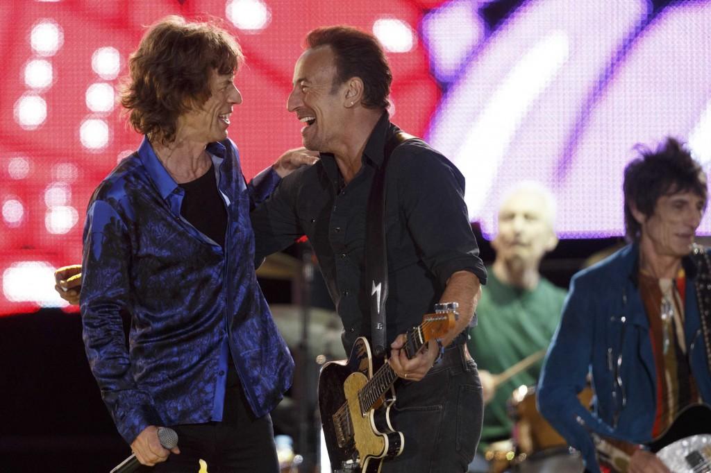 Mick Jagger y Bruce Springsteen, Rolling Stones, Lisboa