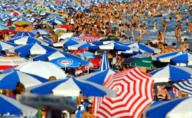 Playa petada, sol y playa