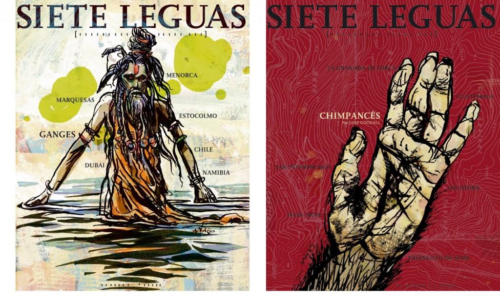 Siete Leguas, Revista de Viajes