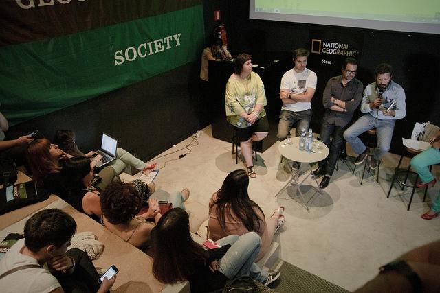 Un momento del encuentro #GeekTTFotos
