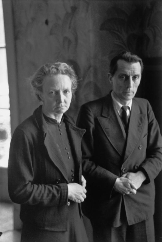 Los Curie. Henri Cartier Bresson
