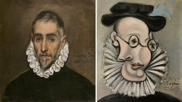 El Greco, Picasso