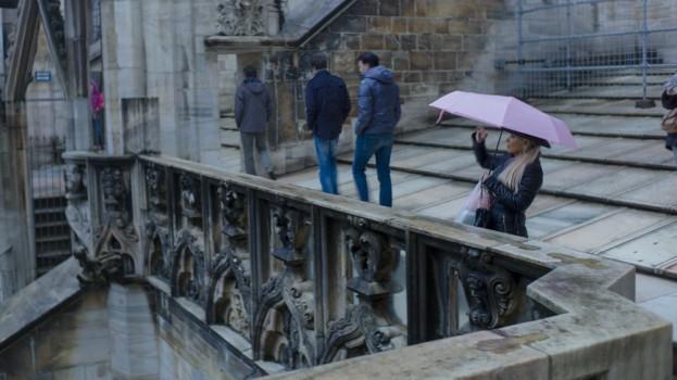 Tejados Il Duomo, Milán