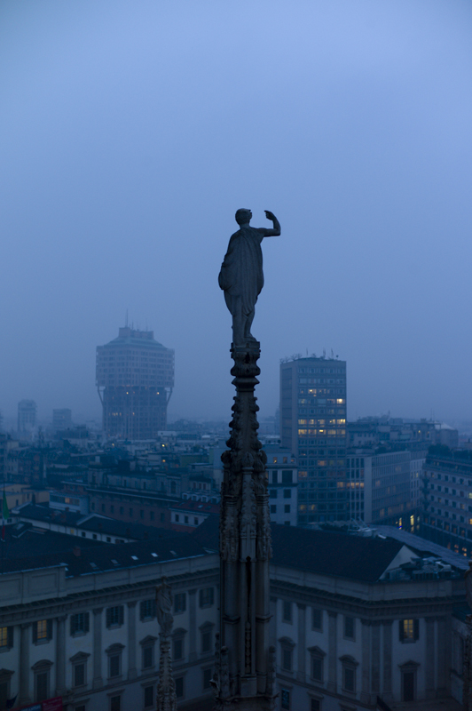 Duomo de Milán, estatuas
