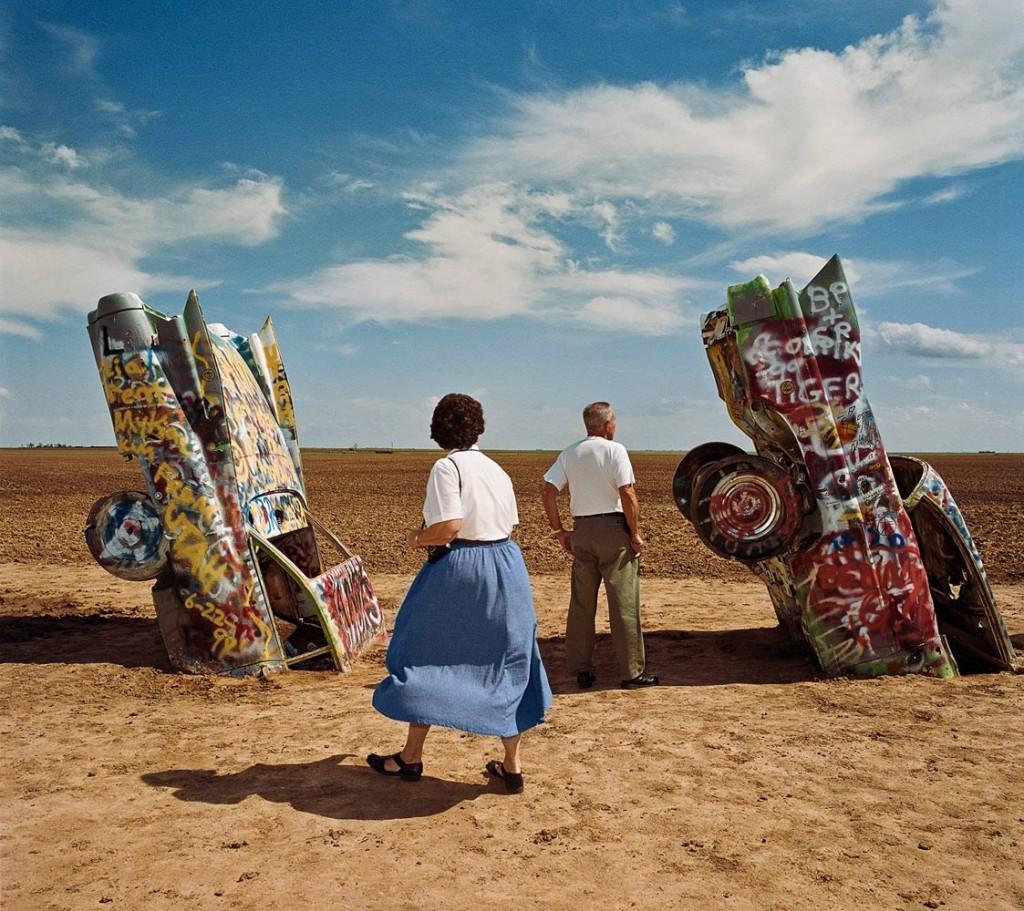 Roger Minick, Cadillac Ranch, El fotógrafo de los turistas