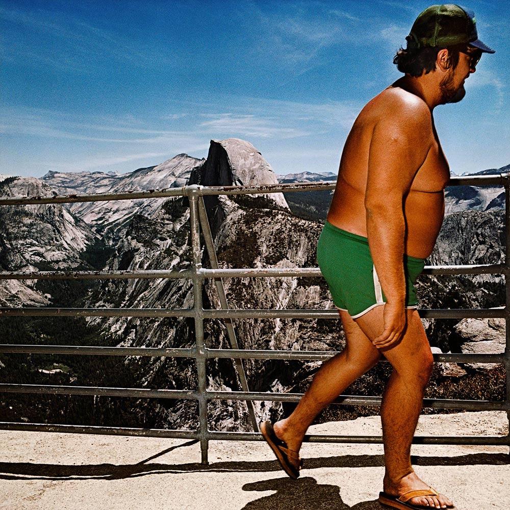 Roger Minick, Glacier Point, Yosemite, El fotógrafo de los turistas