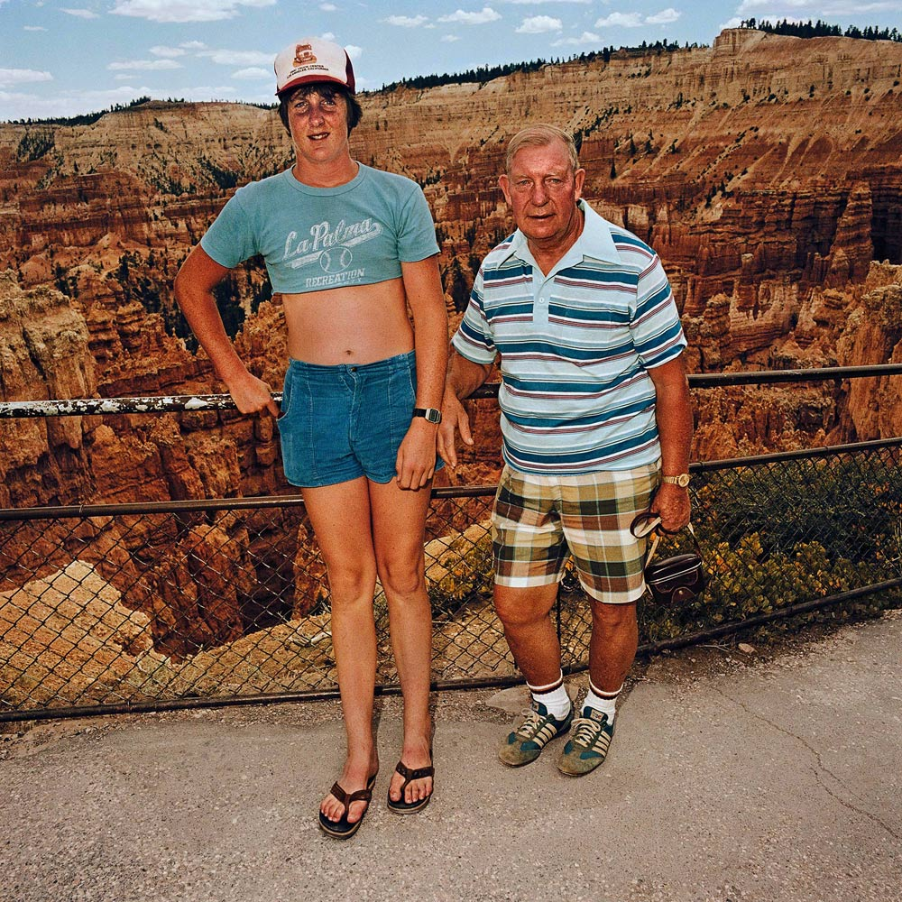 Roger Minick, Sunset Point, Bryce Canyon, El fotógrafo de los turistas