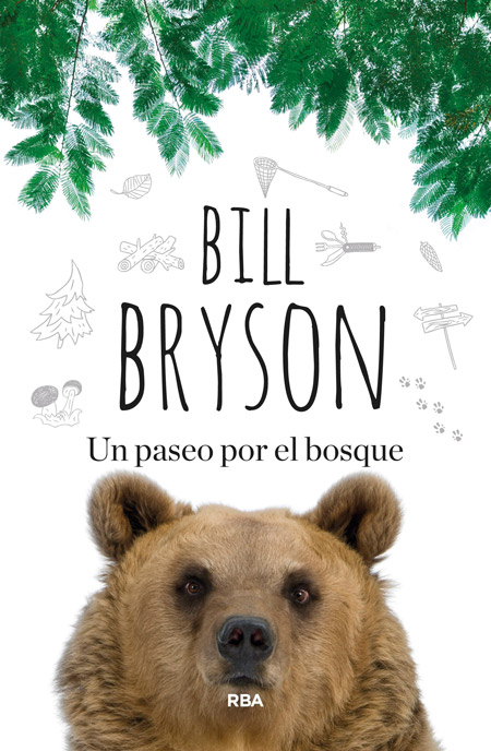 Libro de Bill Bryson, un paseo por el bosque, los apalaches