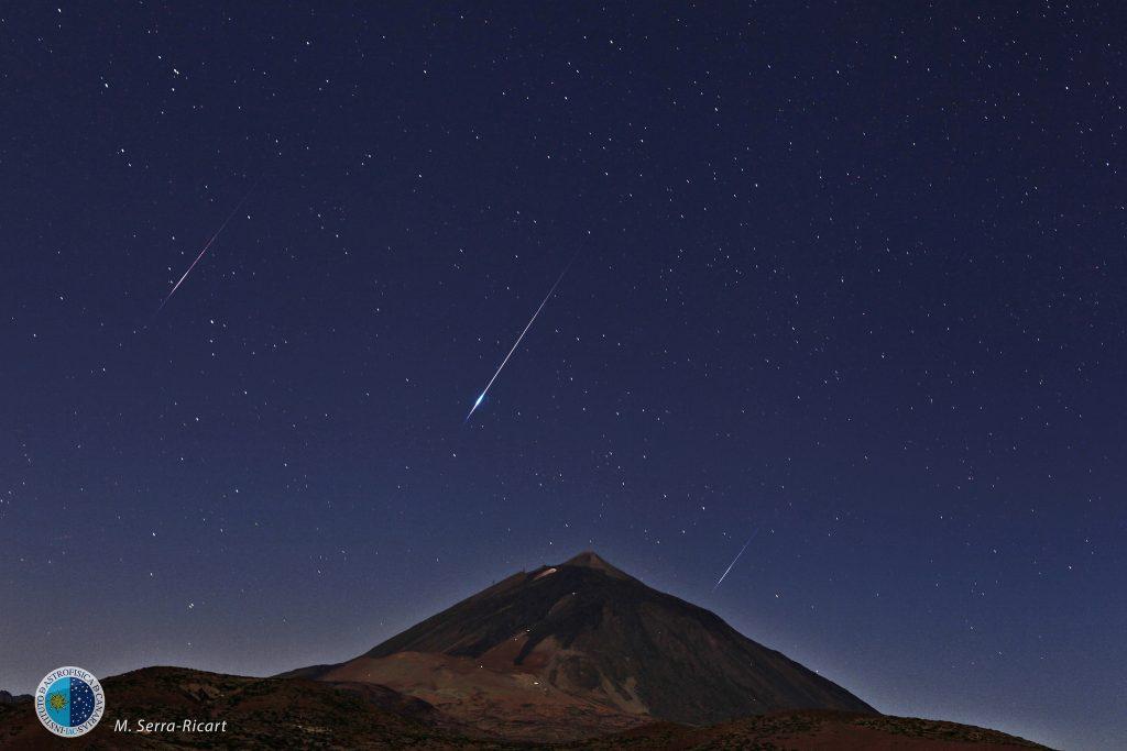 foto nocturna tenerife, estrellas tenerife