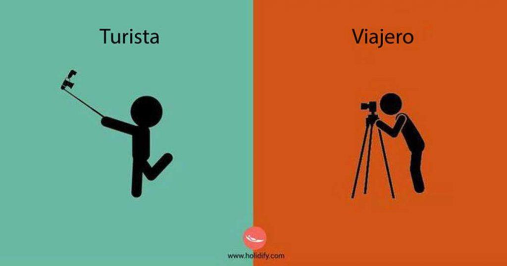 turista vs viajero