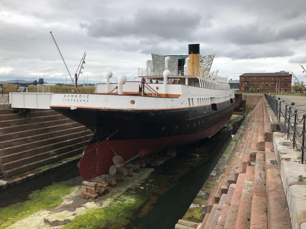 ss nomadic, Titanic Quarter, Cosas que aprendí del Titanic en Belfast
