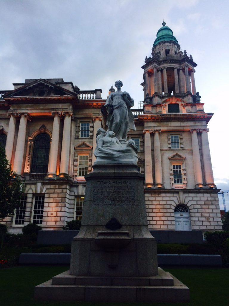 monumento, víctimas del Titanic, Titanic, Belfast