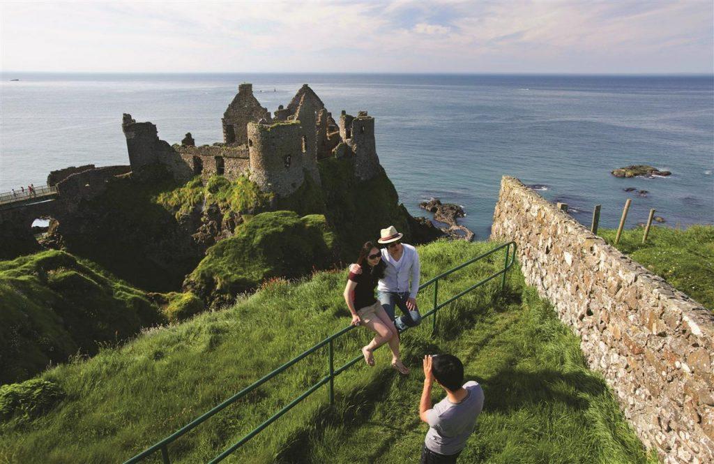 castillo de dunluce, ruta de juego de tronos por Irlanda del Norte