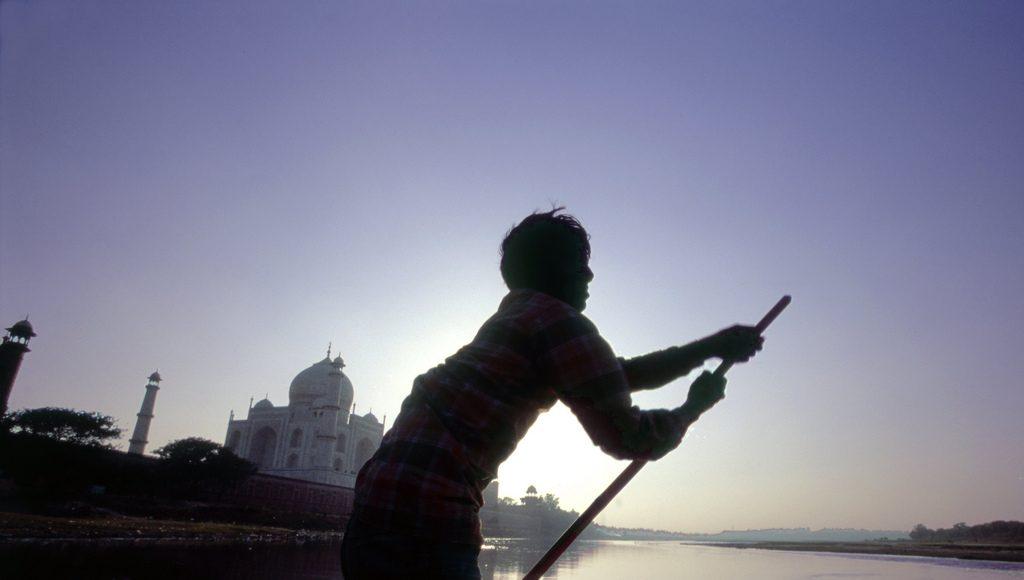 rio yamuna, consejos para visitar el Taj Mahal