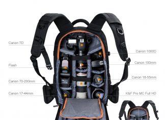 mochila para viajar con cámara, camara backpack