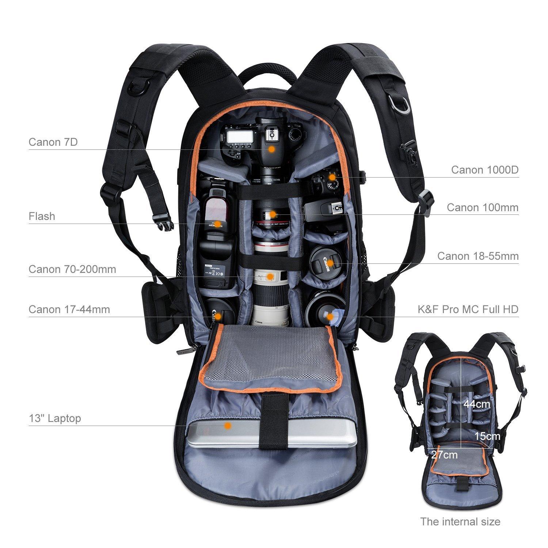 mochila de viaje para cámaras, camara backpack