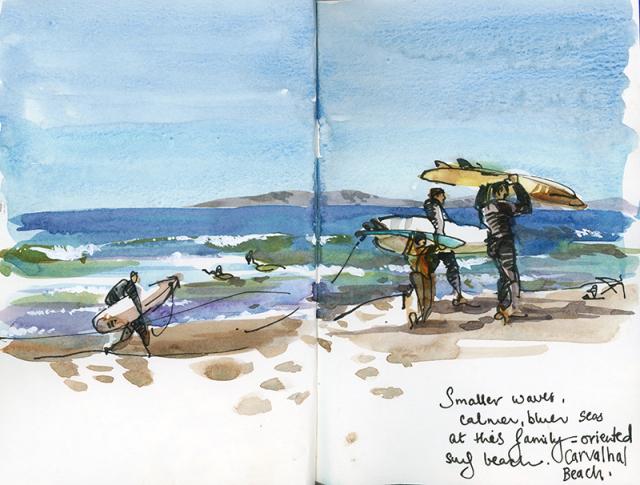 lo mejor de portugal, playas sketch