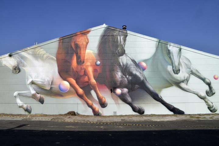 street art en Gante,  Super A