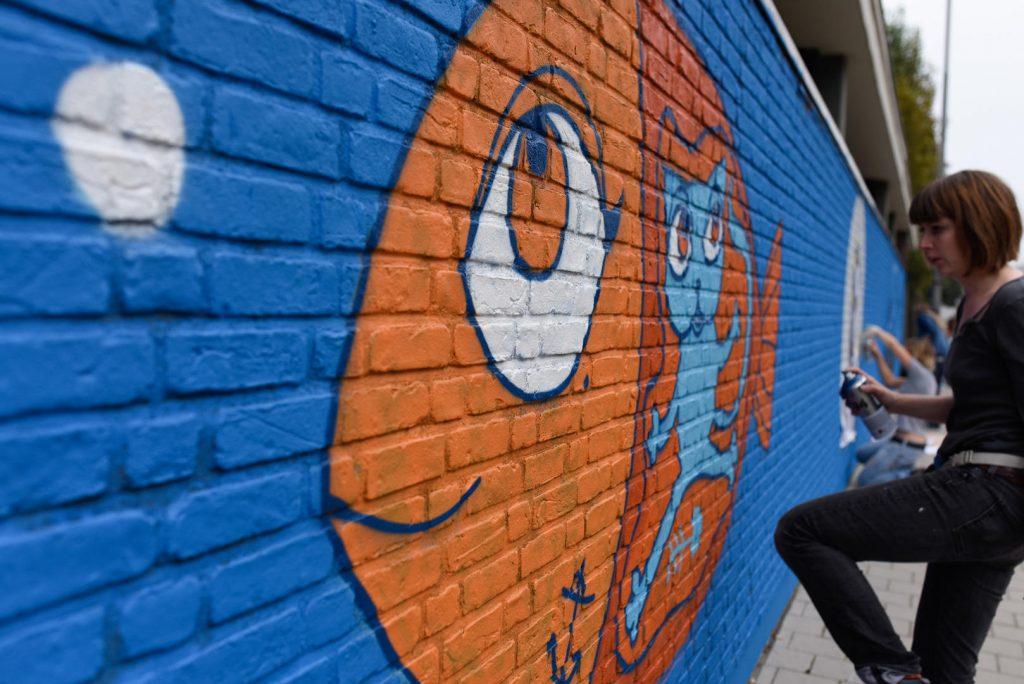 ruta grafiti en gante
