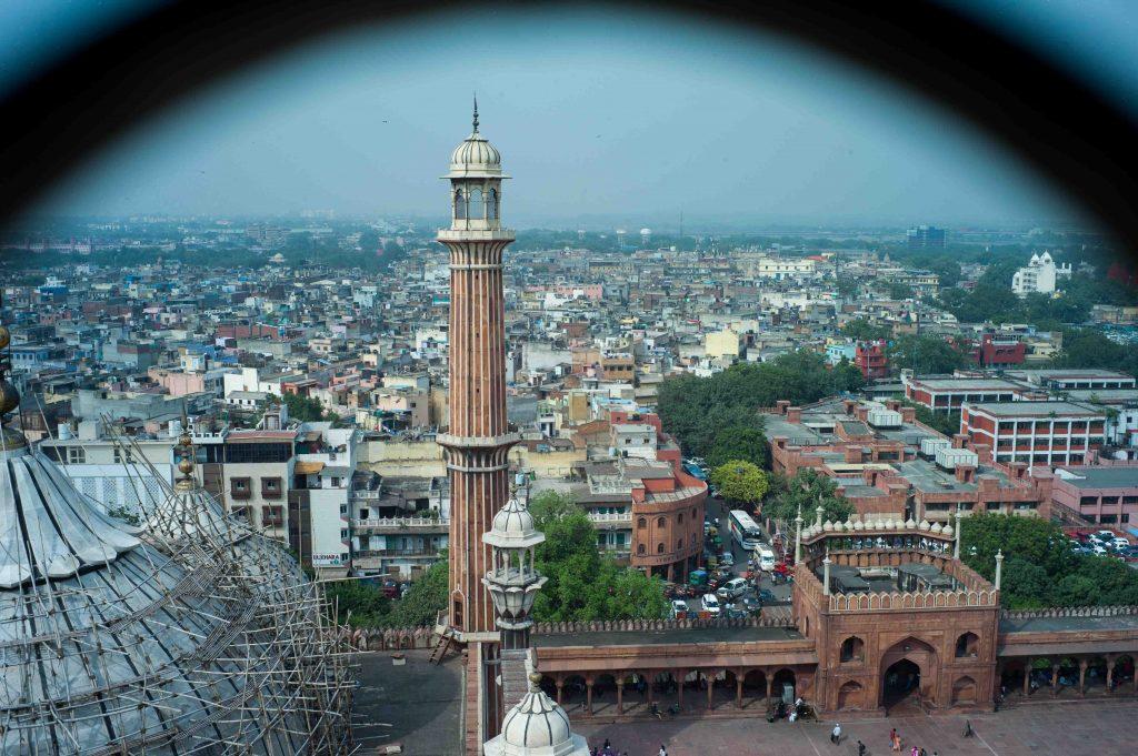 , que hacer en Nueva Delhi, Minarete Jama Masjid