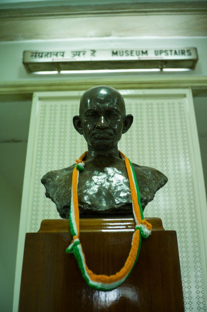 que-hacer-en-nueva-delhi, Busto de Gandhi