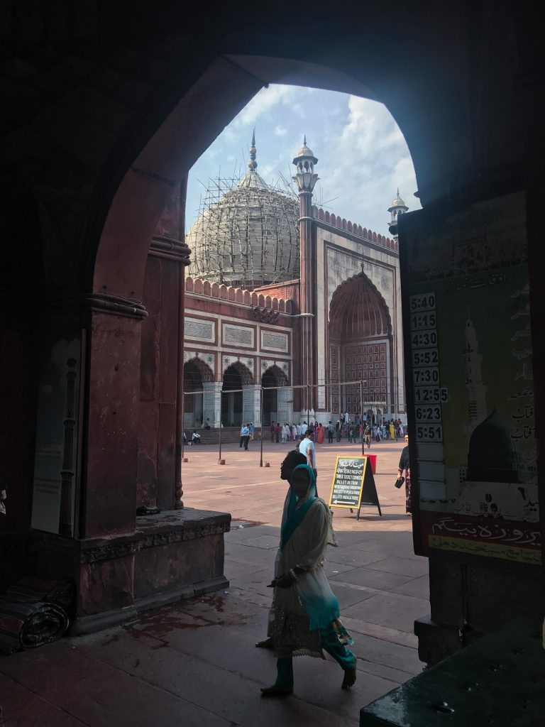 old delhi, jama masjid