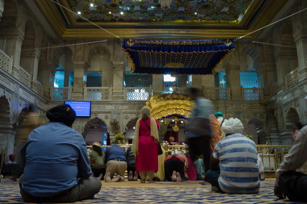 templo sij en Delhi,