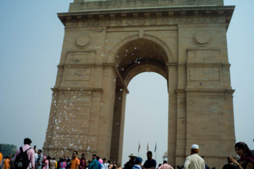 la puerta de la India,