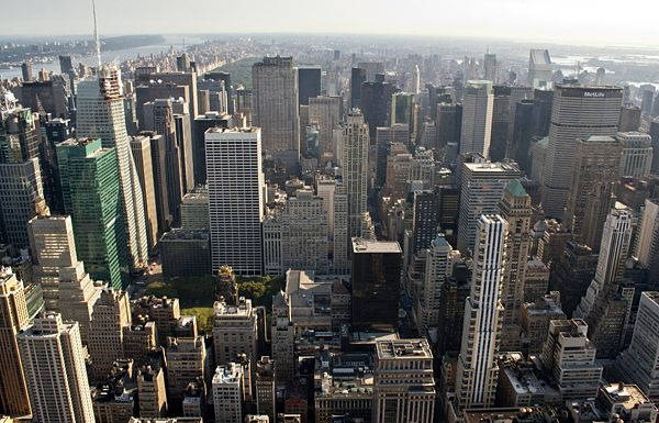 rascacielos en nueva york
