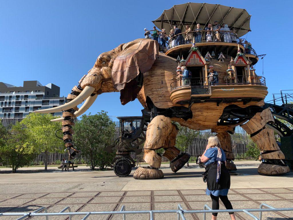 el elefante de Nantes